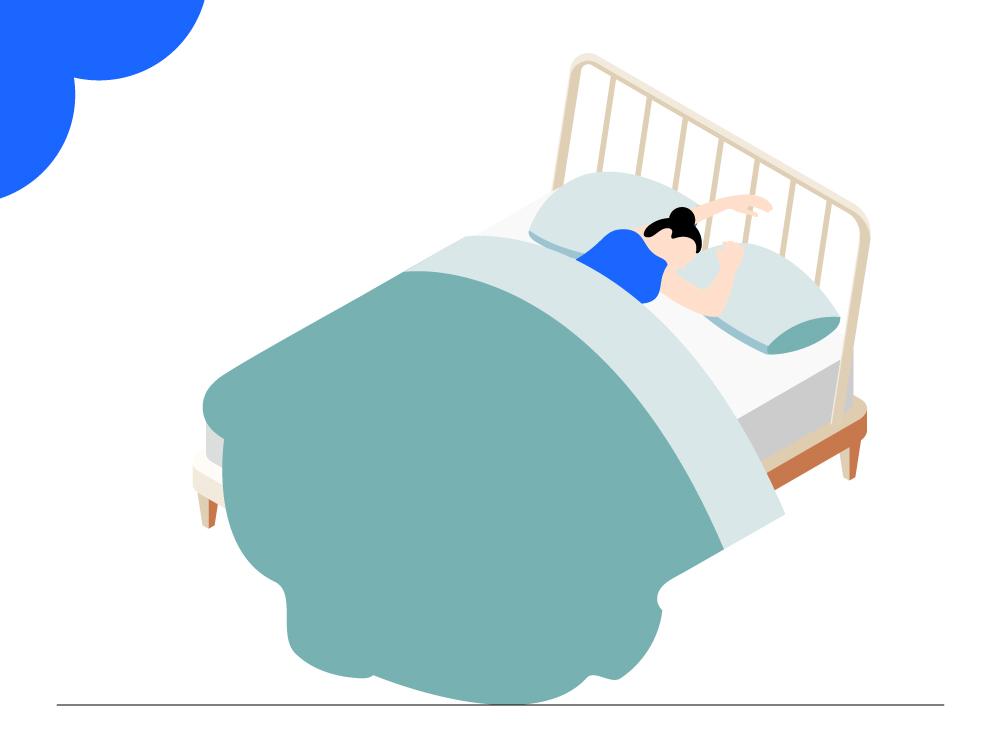 Tips bij het piekeren en slapen