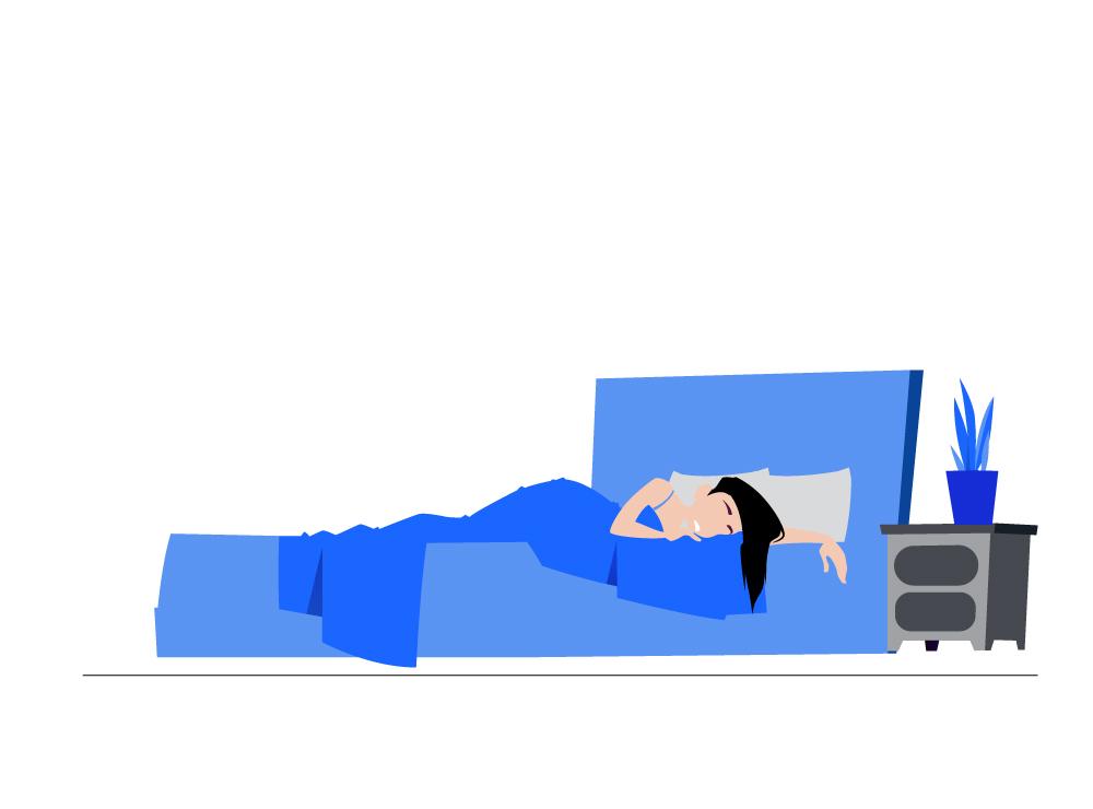 Slecht slapen door overprikkeling