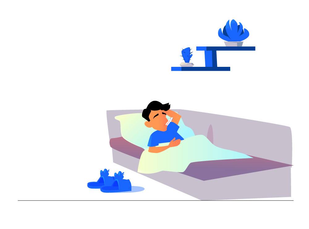Slecht slapen door een depressie
