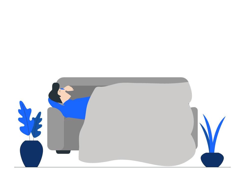 Stress en piekeren tijdens het slapen