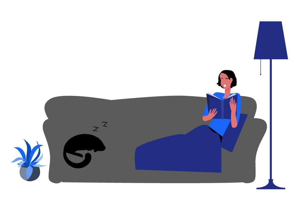 Verschillende fases van de slaapcyclus