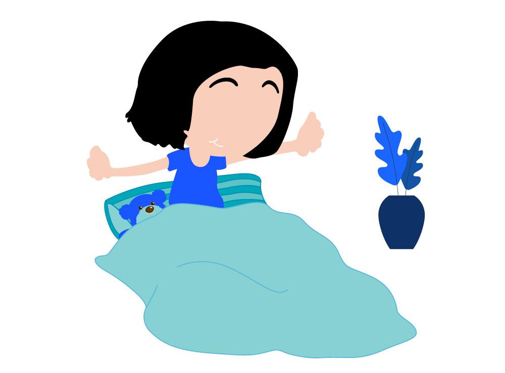 Wat kan ik doen tegen het slechte slapen van mijn kind?
