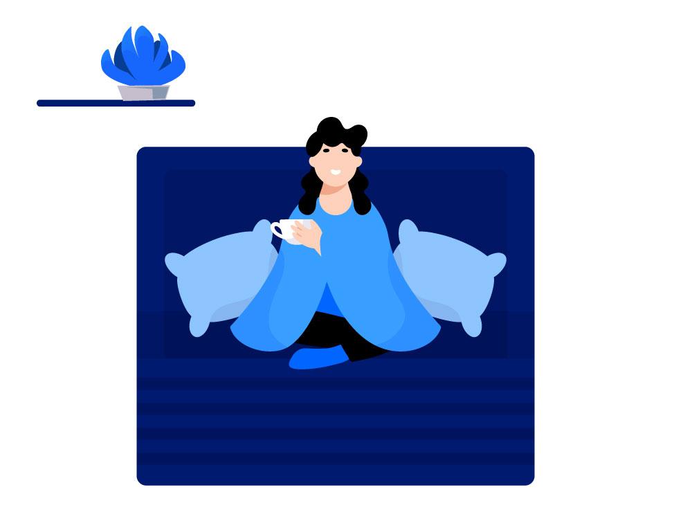 Mediteren voor het slapen