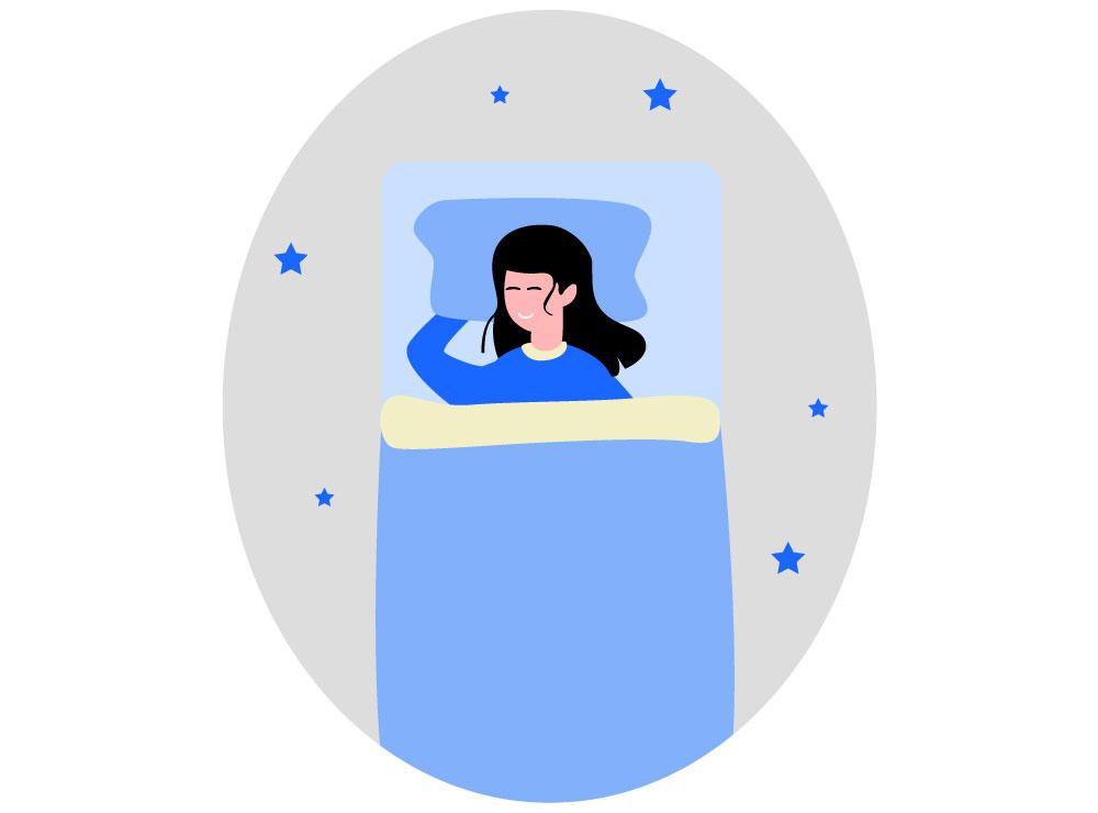 Oordoppen tijdens het slapen