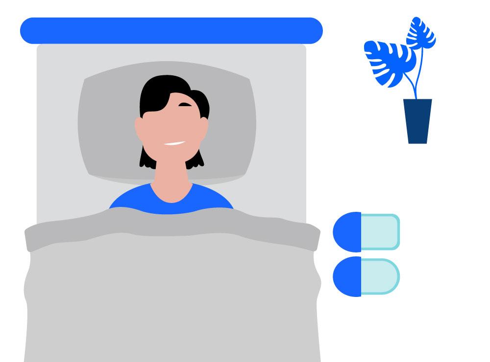 Het nut van slaapmaskers