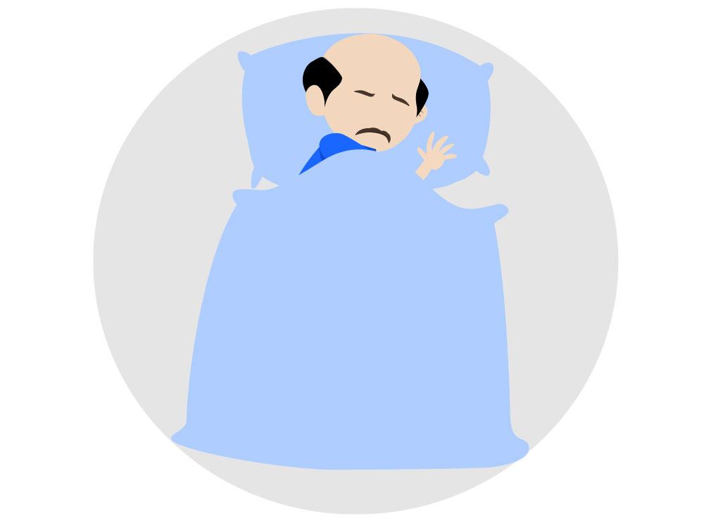 Praten in de slaap