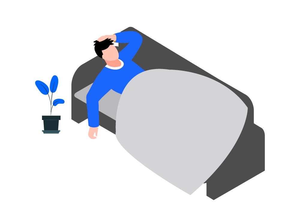 Hoofdpijn na het slapen